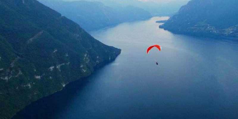 Paragliding and hang-gliding